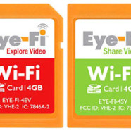 Eye-Fi: the SD Card with built in WiFi
